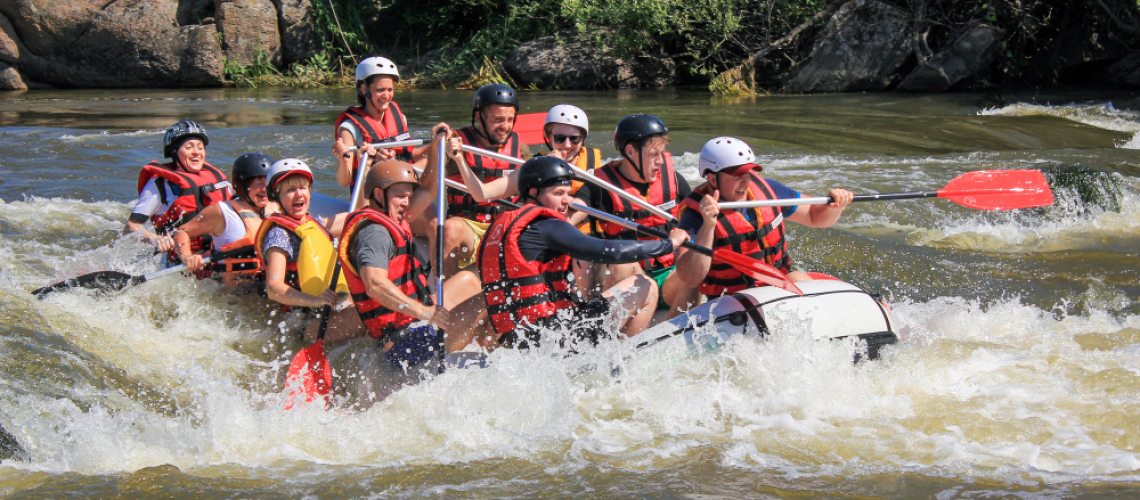 Go white water rafting in Costa Rica.